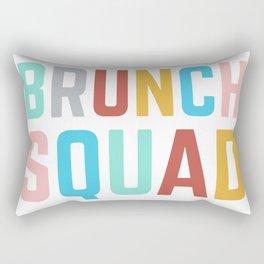 Brunch Squad Breakfast Club Girls Foodie Women's Shirt Bright Colorful Rectangular Pillow
