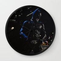 superhero Wall Clocks featuring Superhero by VAWART