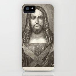 Christ by Da Vinci iPhone Case