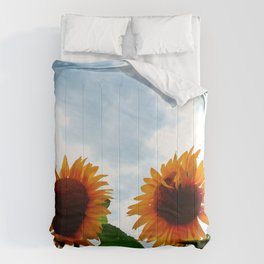 Deformed Sunflower Comforters