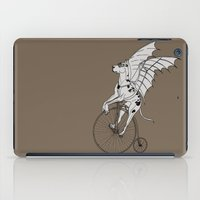 great dane iPad Cases featuring Steam Punk Great Dane by Rebecca Pocai