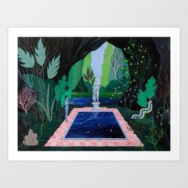 Spellwork Art Print
