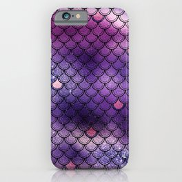 mermaid gliter pattern iPhone Case