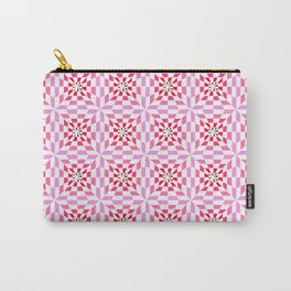 Symmetric patterns 128-pink Carry-All Pouch