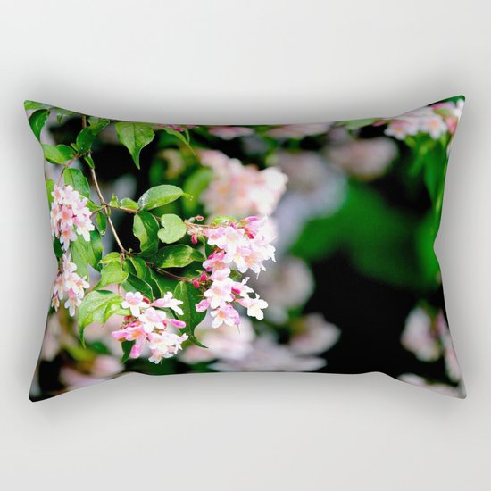 Spring Into Action Rectangular Pillow