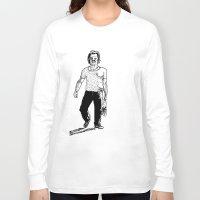 swedish Long Sleeve T-shirts featuring Swedish midsummer by Johan Malm