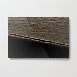 Painted Holes Metal Print