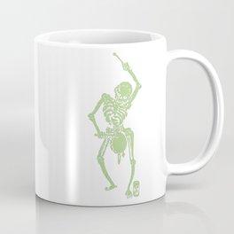 Green Faust Skeleton II Coffee Mug