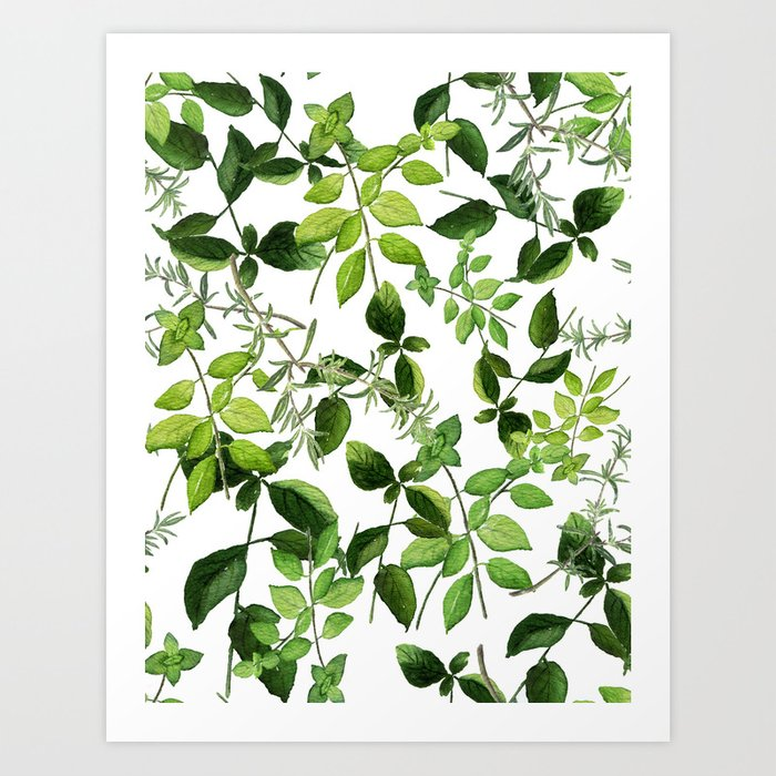 I Never Promised You an Herb Garden Art Print