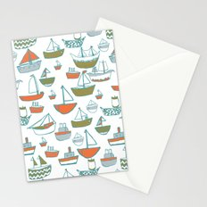 Hey Little Boat Stationery Cards