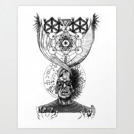 Molecular Enlightenment Art Print