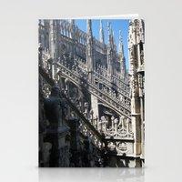 milan Stationery Cards featuring Milan Duomo by Melinda Zoephel