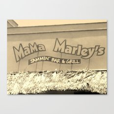 Jamaica - Mama Marleys Canvas Print