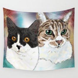 Lily and Sasha Wall Tapestry