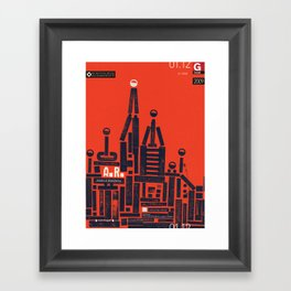 Angelo Roventa Poster Framed Art Print