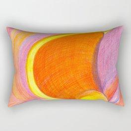 Verge of a Break-Through Rectangular Pillow