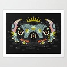 Demon King Art Print