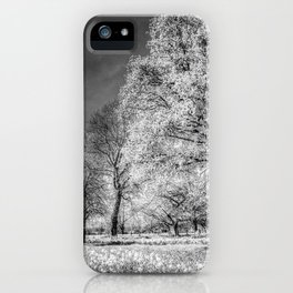 The Summer  English Field Infared iPhone Case