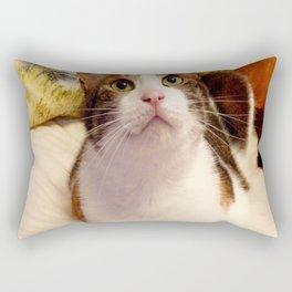 Antigone sweet kitty Rectangular Pillow