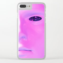 Face Aestheitic 1 Clear iPhone Case