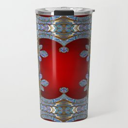 Boujee Boho Royal Metallic Travel Mug