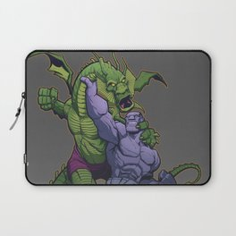 It The Living Colossus vs. Fin Fang Foom Laptop Sleeve