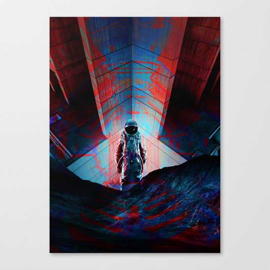 See you soon Space Cowboy Canvas Print