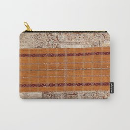 Tapis Lampong South Sumatra Indonesian Wrap for Woman Print Carry-All Pouch