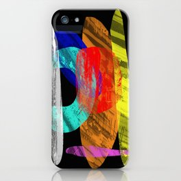 Pastel Pieces - Abstract, pastel artwork iPhone Case