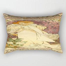 Vintage poster - La Dame Aux Camelias Rectangular Pillow