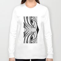gravity Long Sleeve T-shirts featuring GRAVITY by Fen_A