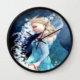 Snow Queen Wall Clock