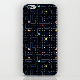 Pac-Man Retro Arcade Gaming Design iPhone Skin