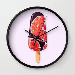 Ice cream - E Wall Clock