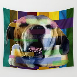 Mastiff Smile Wall Tapestry