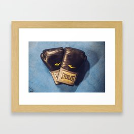 Boxing Love Framed Art Print