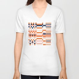 Connecting lines 1 Unisex V-Neck