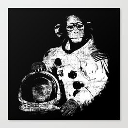 Space Monkey -- There's Hope For Us All Canvas Print