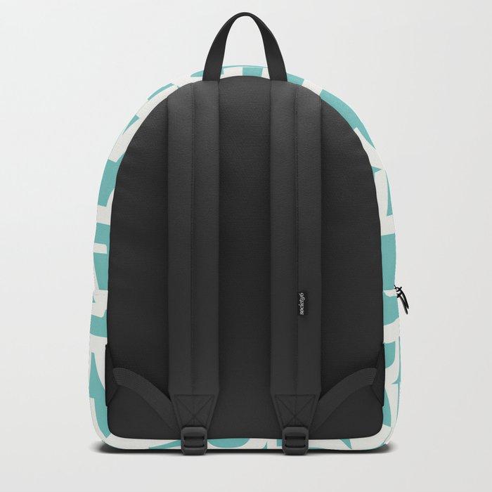 Hidden blue LOVE message Backpack