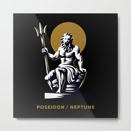 Poseidon / Neptune Metal Print