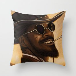 Django - Our newest troll Throw Pillow