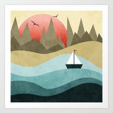 Ocean Adventure 2  Art Print