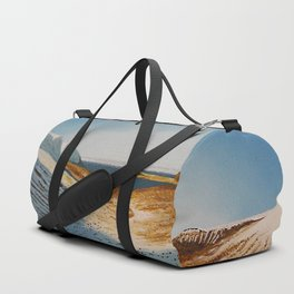 View from Esja to Walfjord - Iceland / Oil Painting Duffle Bag