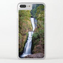 Bridal Veil Falls - Columbia River Gorge, Oregon Clear iPhone Case