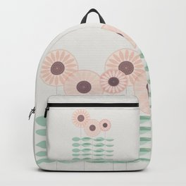 Blushing garden Backpack