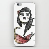 lolita iPhone & iPod Skins featuring Lolita by Catsareblue
