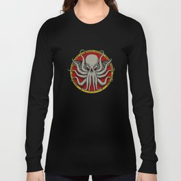 Cthulhu Face Long Sleeve T-shirt