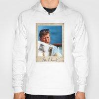 jfk Hoodies featuring JFK Boat by Sport_Designs