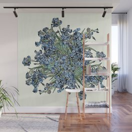 Play with Vincent's Irises Wall Mural