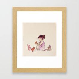 When I Grow Up Framed Art Print